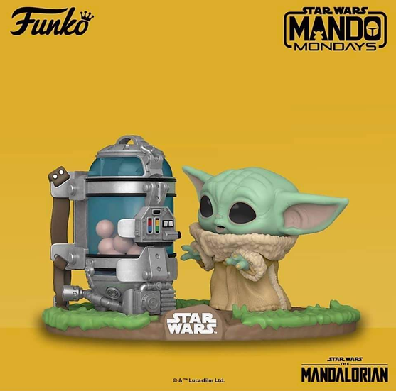 Pop! Mandalorian The Child with Eggs