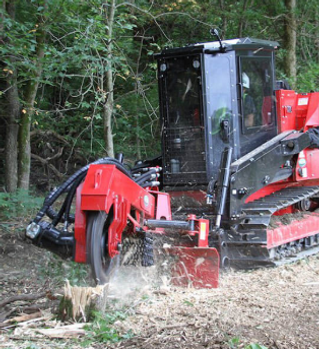 TEC Fecon Stump Machines