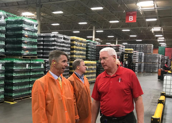 Wittman Visit Coca-Cola