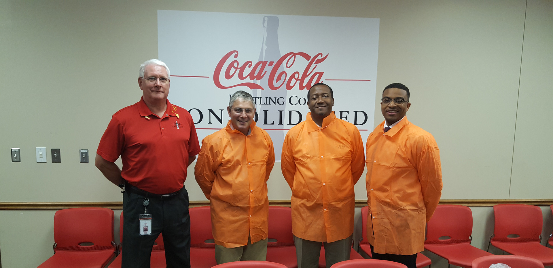Henrico County Visits Coca-Cola Sandston