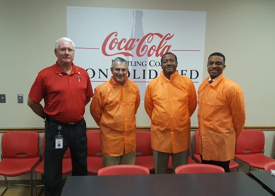 Henrico County Visits Coca-Cola Sandston