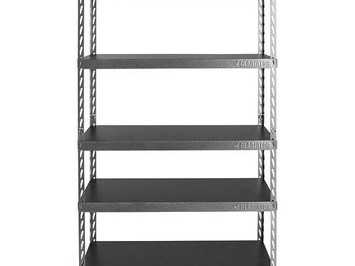 122cm Wide EZ Connect Rack with Five 46cm Deep Shelves
