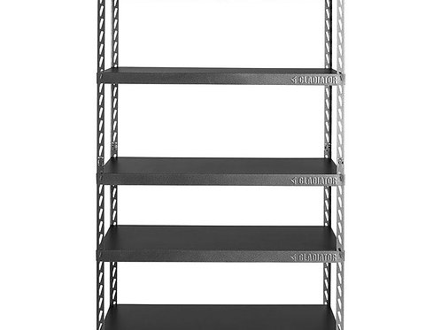 122cm Wide EZ Connect Rack with Five 60cm Deep Shelves