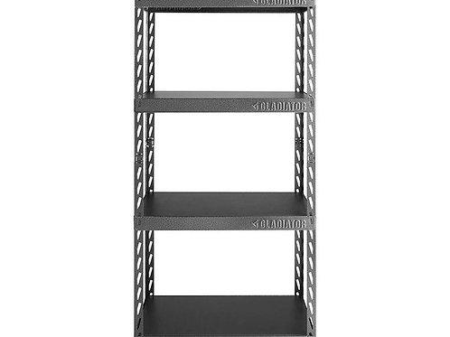 76cm Wide EZ Connect Rack with Four 38cm Deep Shelves