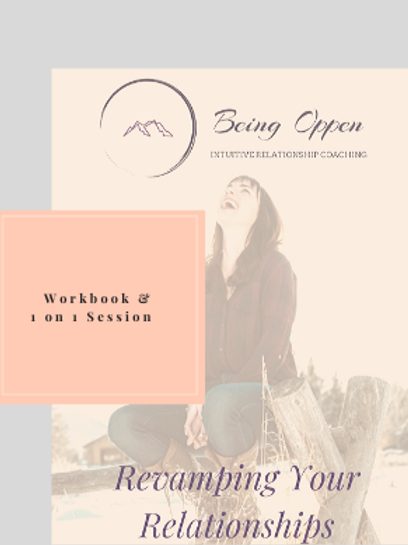 Revamping Relationships Workbook + Personal Session