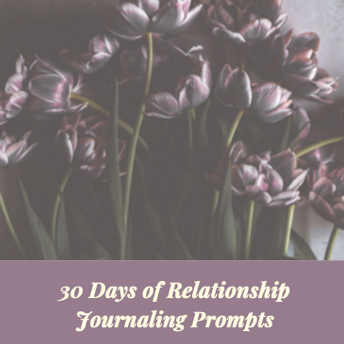 30 Days of Journaling Prompts