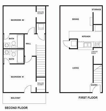 Two persons per two bedroom floor plan is the maximum occupancy allowed by  The Garden. The Garden District   AU Floor Plans