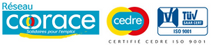 Coorace, Cedre, ISO9001