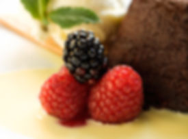 Blackberries and Raspberries desert