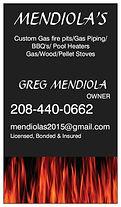 Mendiola's Custom Gas Fire Pits