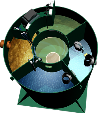 станция биологической очистки устройство септика Италбио Italbio схема септика, фото, Канализация на даче, экплуатация, работа, какой лучше