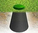 цены септика стоимость дешевый недорогой Росток конический колодец  Rostok загородная канализация для дачи и дома пластиковый бюджетный локальный септик фото