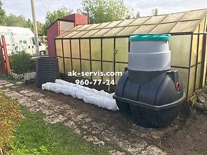 Септик купить Росток Rostok загородная канализация для дачи и дома пластиковый бюджетный локальный септик , фото, отзывы, принцип работы, спб, питере, в луге
