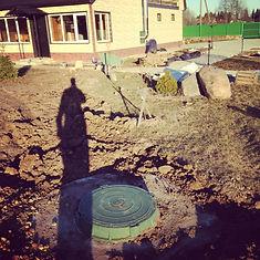 из бетонных колец септик сервис в спб из колец установка септика фото для высоких грунтовых вод, правильный, ленобласть