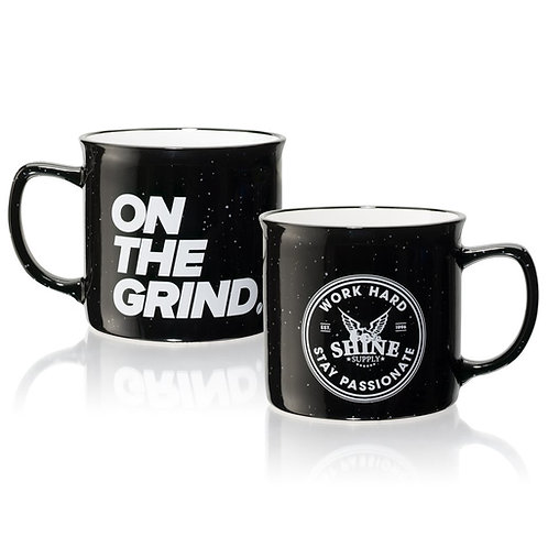 ON THE GRIND COFFEE MUG