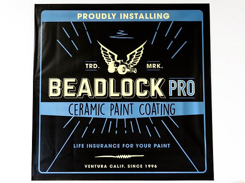 BEADLOCK PRO CERAMIC COATING BANNER