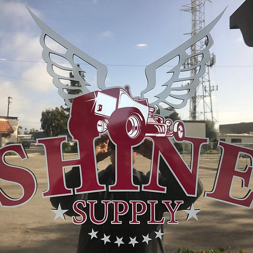 SHINE SUPPLY DECAL