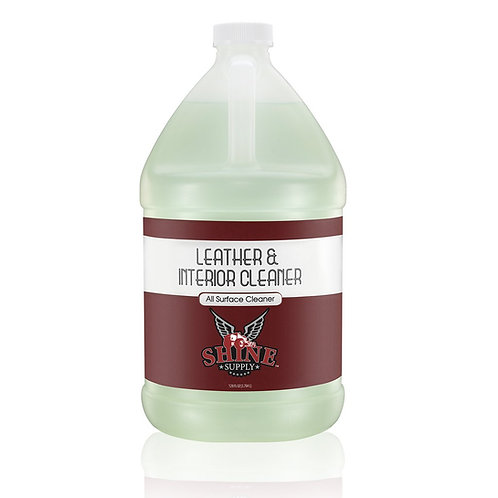 LEATHER & INTERIOR CLEANER - GALLON