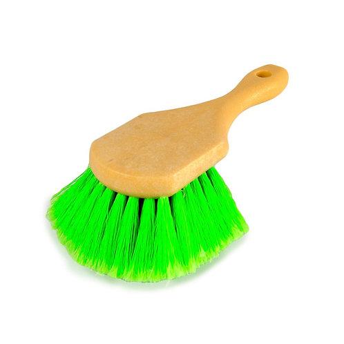 SOFT BRISTLE GREEN BRUSH