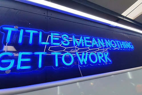 Neon Lighting - Titles