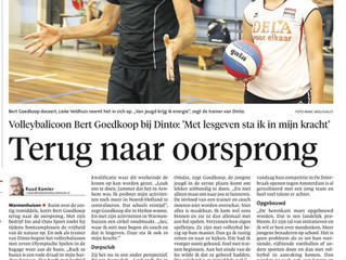 Bert Goedkoop in Noordhollands Dagblad 24 september j.l.