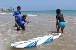 surfing lessons isla verde san juan