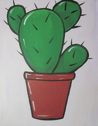 Cactus on small