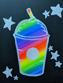Glow Iced Drink 11X14 Kids