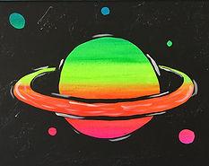 Glow Saturn Kids 11X14