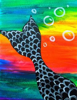 Glow Mermaid Kids 11X14