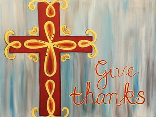 Cross II Give thanks