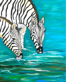 Zeebras in Africa