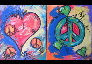 peace and love couples