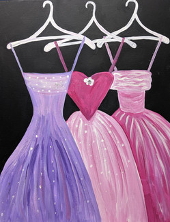 Dresses so pritty in pink