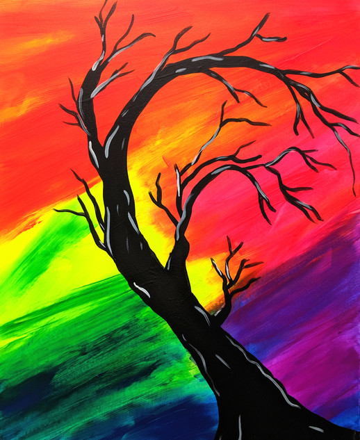 Glow Tree of colors