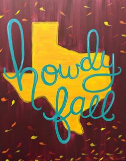 Howdy Fall (2hr)