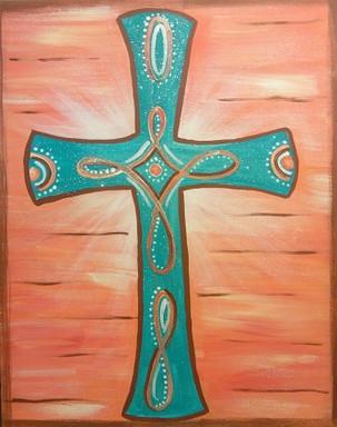 Cross Cowgirl II