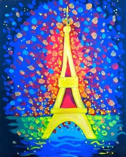Eiffel tower celibration
