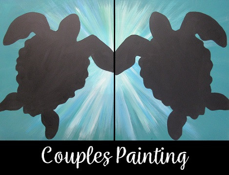 Sea Turtles Couples