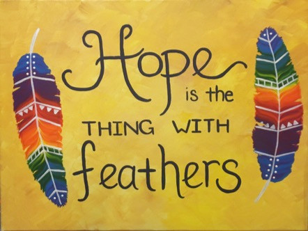 Hope and feathers