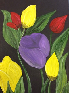 Tulips From holind small