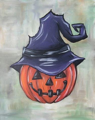 Witch's Jack-O-Lantern