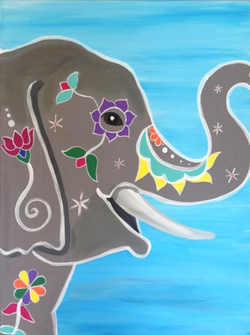 Painted Eliphant