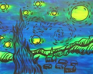 Glow Starry Night