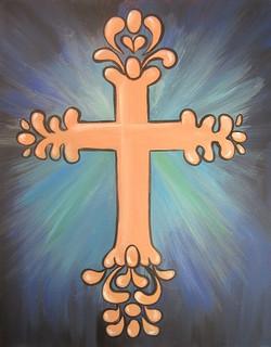 Peach Cross