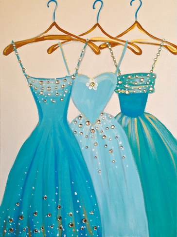Dresses in Blue