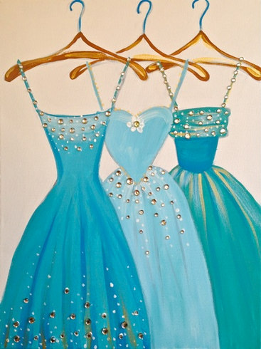 Dresses in Blue