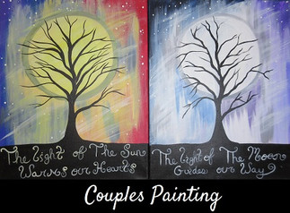 Tree by Moonlight Couples