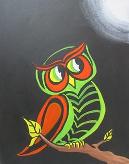 Big Owl Named Spooky