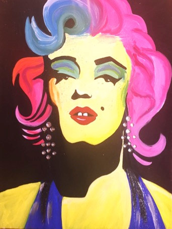 Marylin in Bright colors